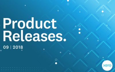 Xero Feature Roundup: Releases as of September 2018