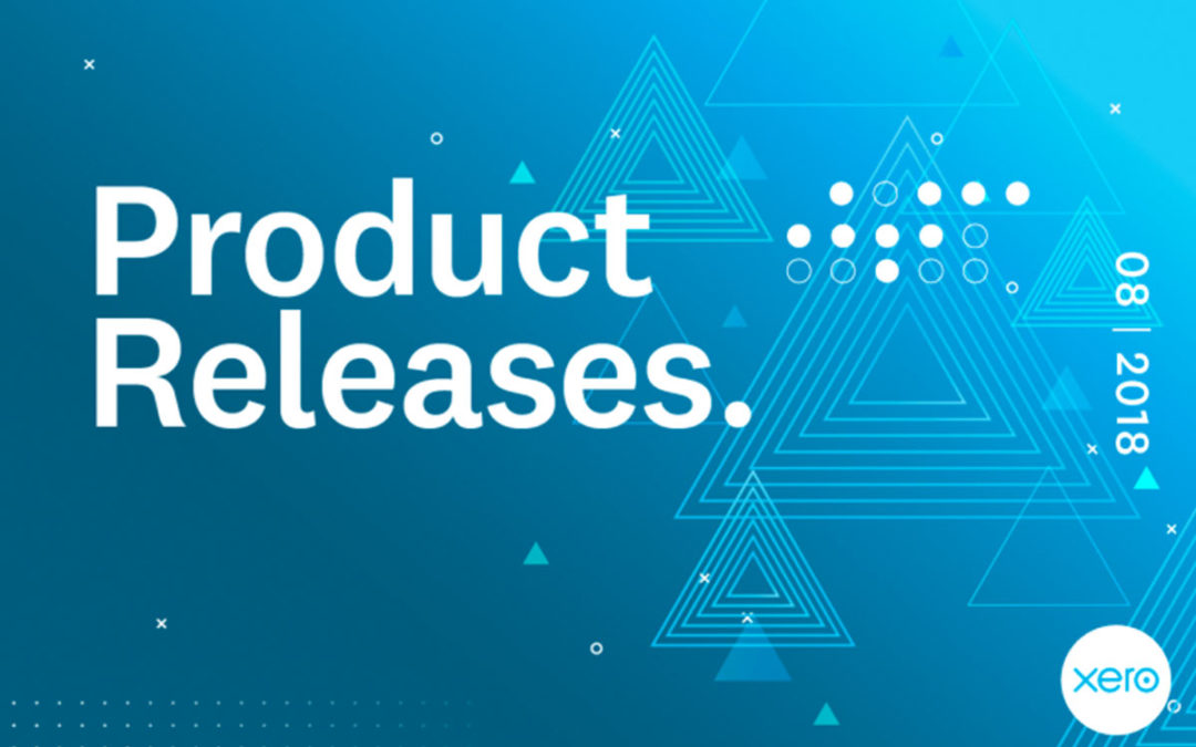 What's New for Xero as of August 2018?